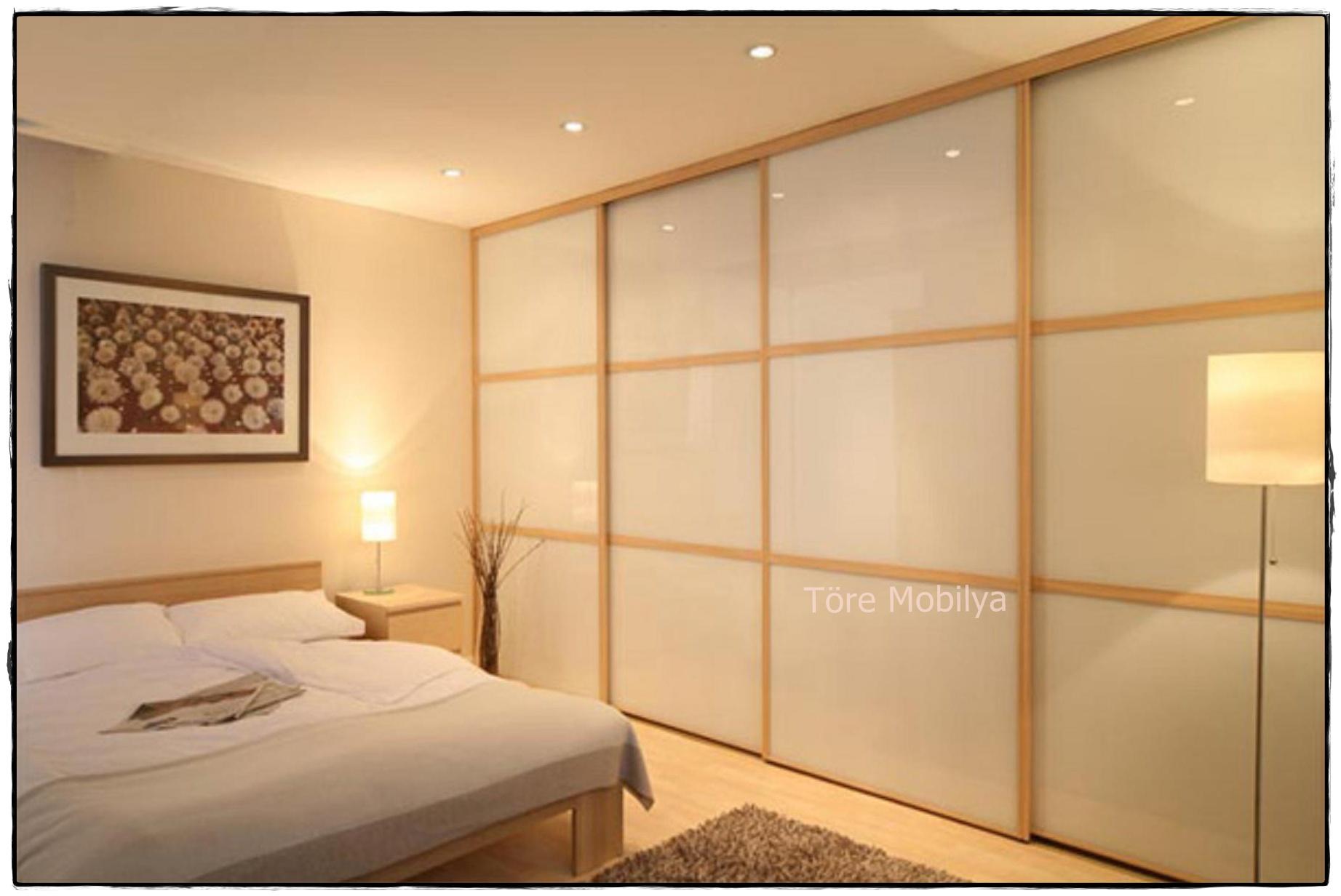Встроенные шкафы купе дизайн в спальню