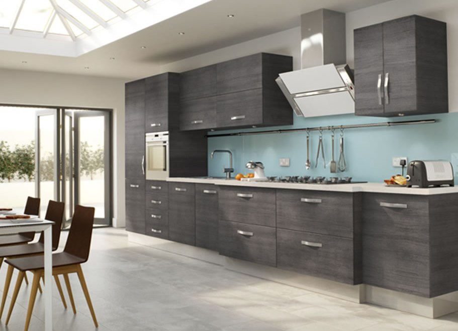 Fascinating Modern Metal Kitchen Hanging Black And