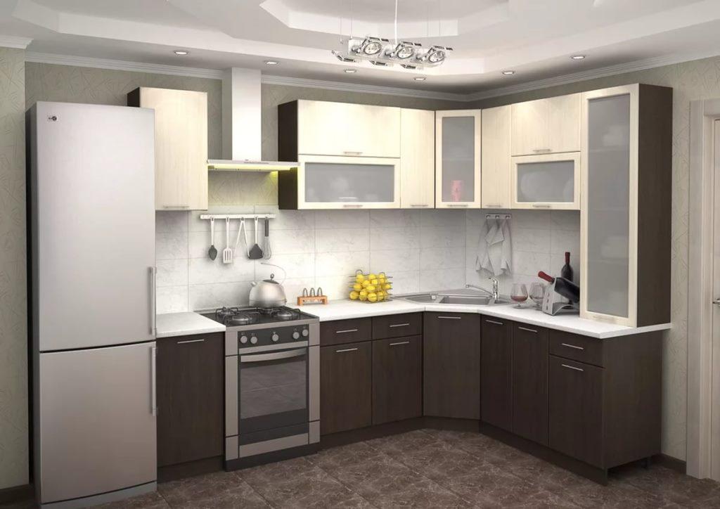 готовая мебель для кухни из дерева